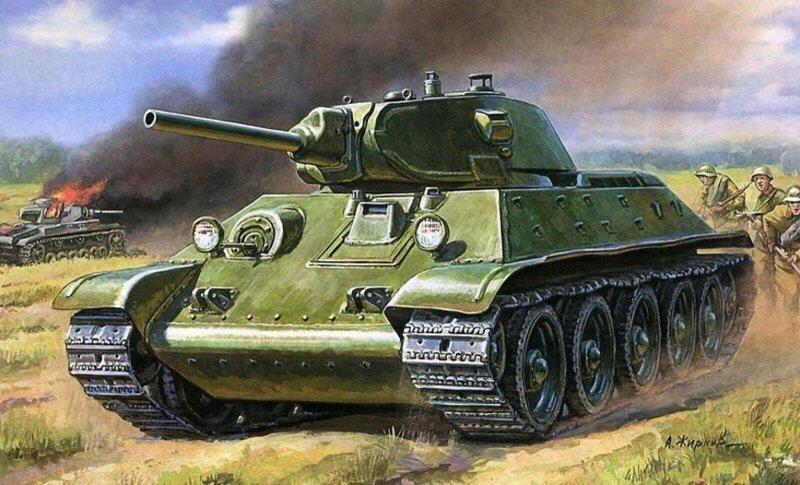 """Легендарная """"тридцатьчетвёрка"""", Советский танк Т-34 - самый знаменитый танк Второй мировой войны"""