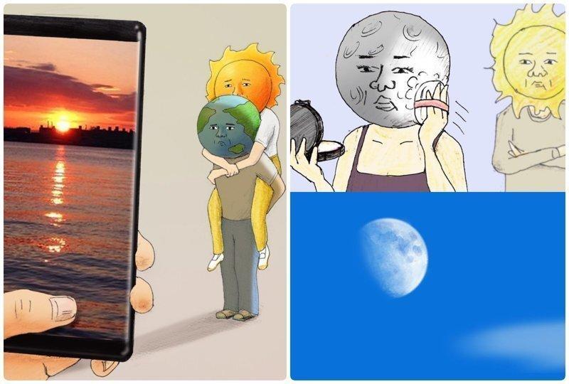Забавные иллюстрации о нашей солнечной системе, которые заставят взглянуть на мир с другой стороны