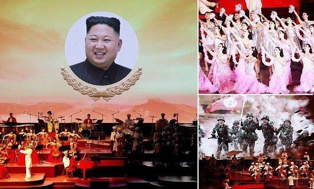 Больше музыки, меньше ракет: Северная Корея отпраздновала 70-летие