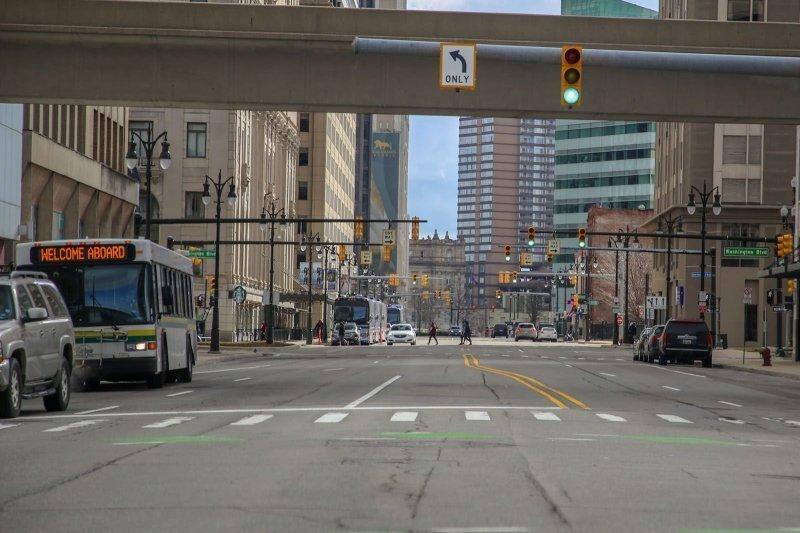 Как выглядит центр Детройта в наши дни