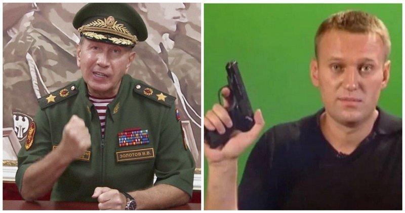 """Глава Росгвардии пообещал сделать из Навального """"сочную отбивную"""": реакция соцсетей"""