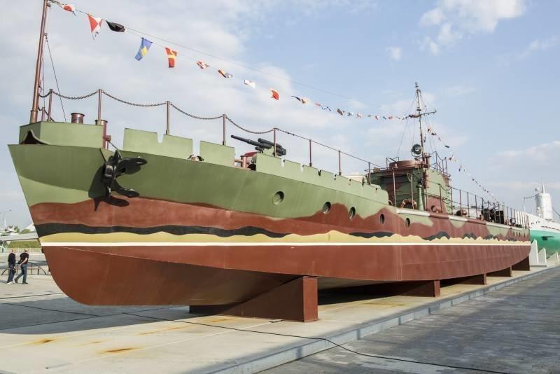 Морской бронекатер проекта 161 тип «МБК»