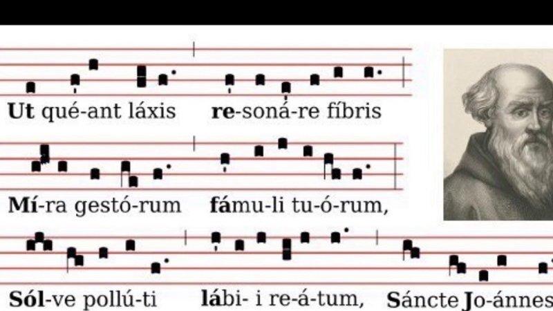 Происхождение названий нот