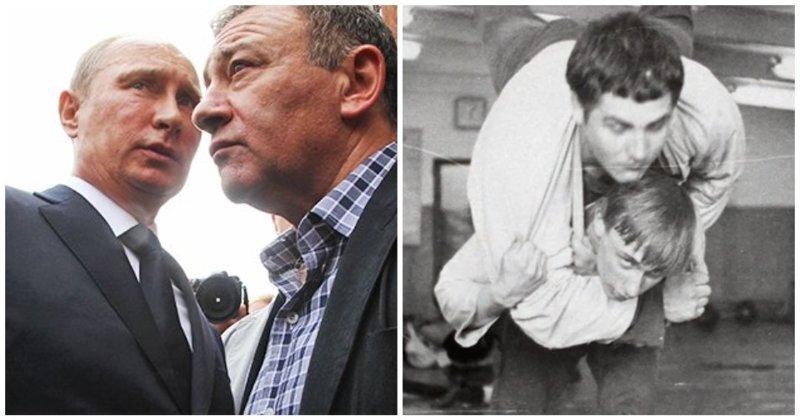То потеребит, то похлопает: Ротенберг рассказал об отношениях с Путиным