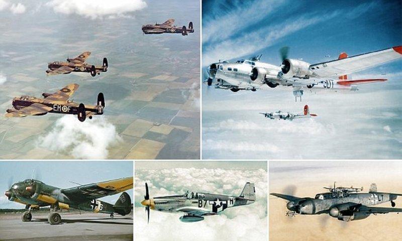Самолеты Второй мировой теперь можно рассмотреть во всей красе