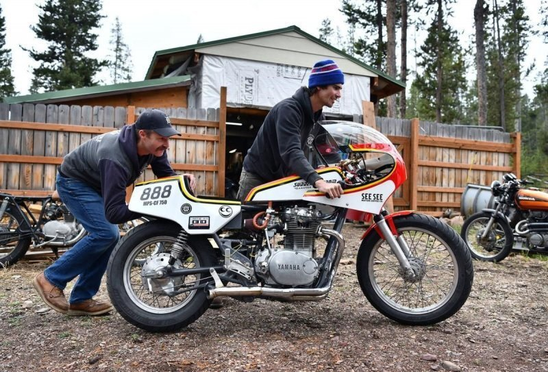 Sudden Wisdom: мотоцикл, работающий на водке