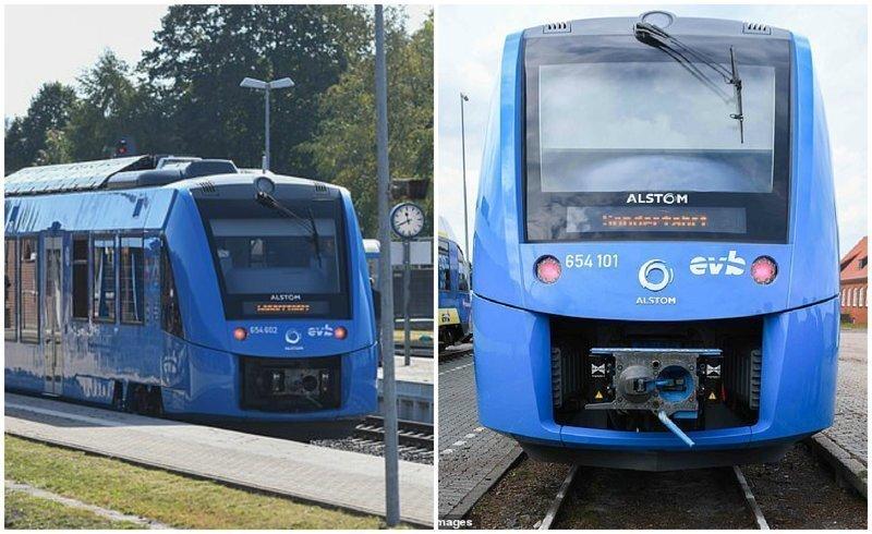 В Германии запустили первый в мире поезд на водороде