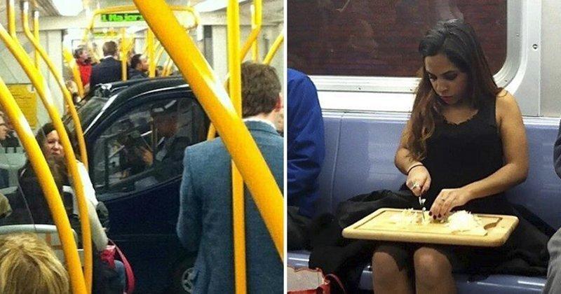 20 идеальных примеров использования общественного транспорта не по назначению