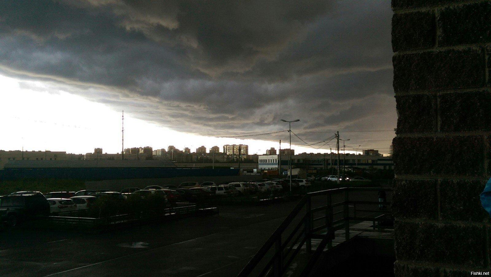 Небо в Питере