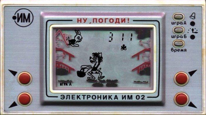 """Советская игра """"Ну, погоди!"""" в реальности"""