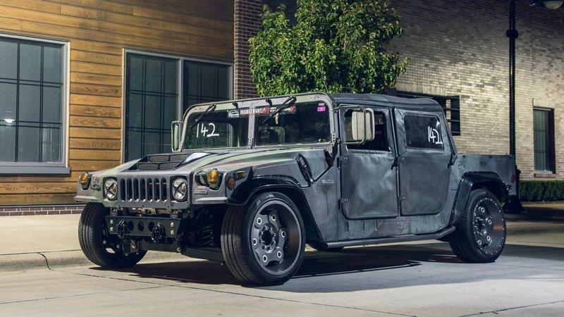 Hummer H1 Track Titan - дорожный гоночный заниженный монстр