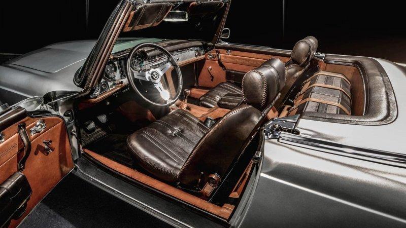 Mercedes 230SL Pagoda от Carlex Design с изысканным кожаным интерьером