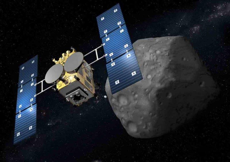 Японское космическое агентство показало новые изображения с поверхности астероида