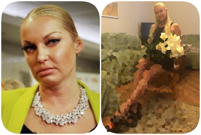 """Волочкова опубликовала новое фото, на котором ее перепутали с """"престарелой стриптизершей"""""""