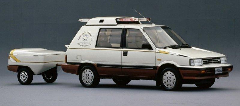 Nissan Prairie Winter Space Wagon - Концепт для любителей зимних видов спорта
