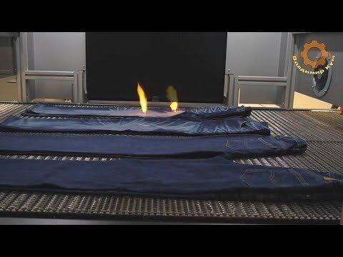 Как делают модные джинсы лазером