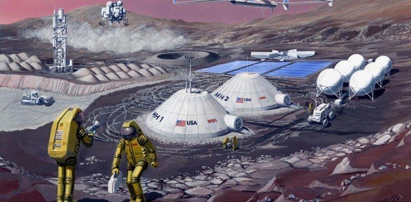NASA рассказало о своих планах по освоению Луны и Марса