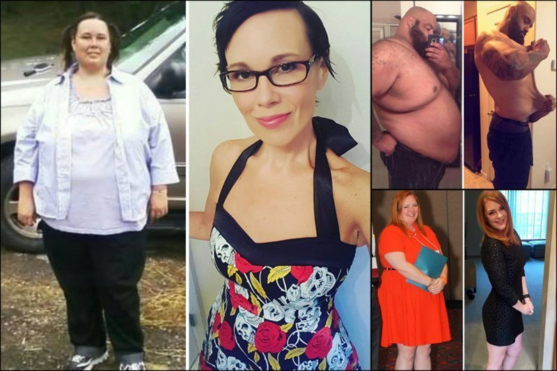 18 фото людей, которые сбросили безумное количество килограммов