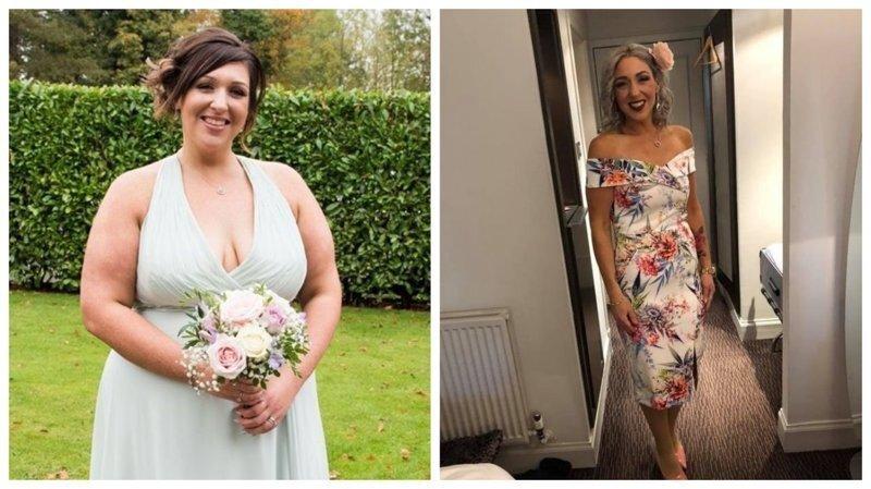 Женщина увидела себя на свадебной фотографии и поклялась похудеть
