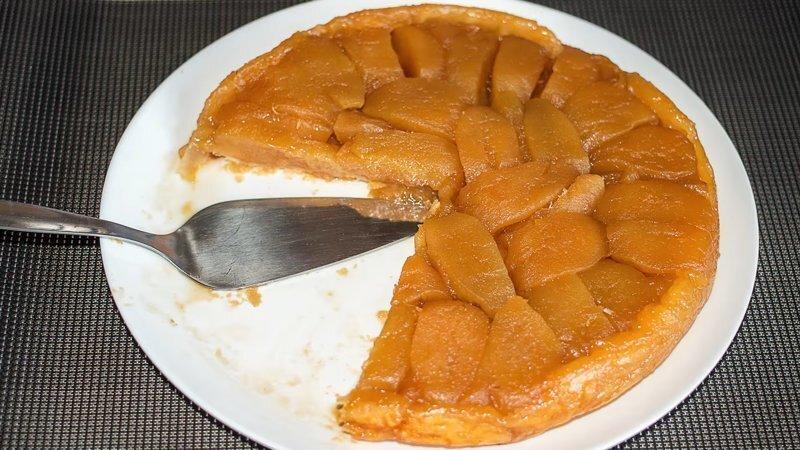 Французский яблочный пирог наизнанку - Тарт Татен