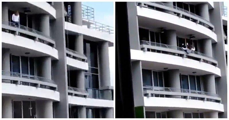 Любительница селфи сорвалась с 27-го этажа в Панаме