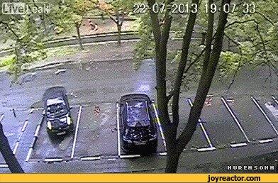 нечто подобно не один раз наблюдал и угадайте, кто был за рулём