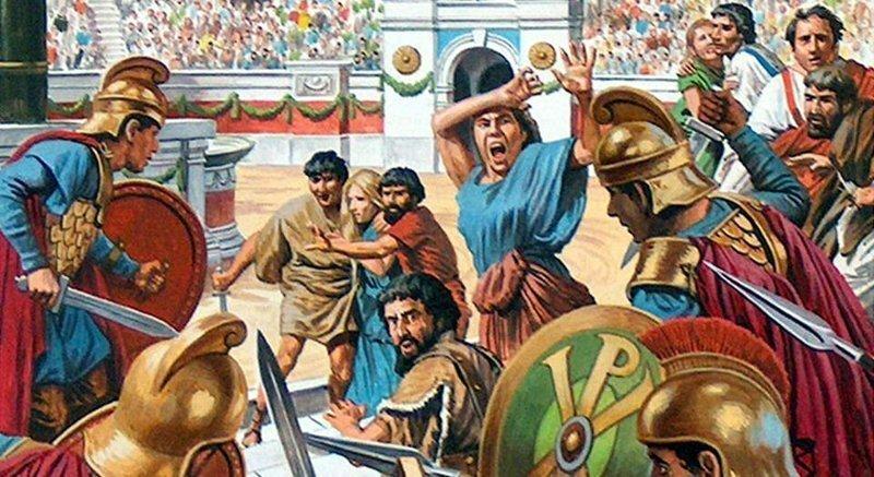 Ника!: как фанаты сожгли Константинополь, а гетера спасла императора