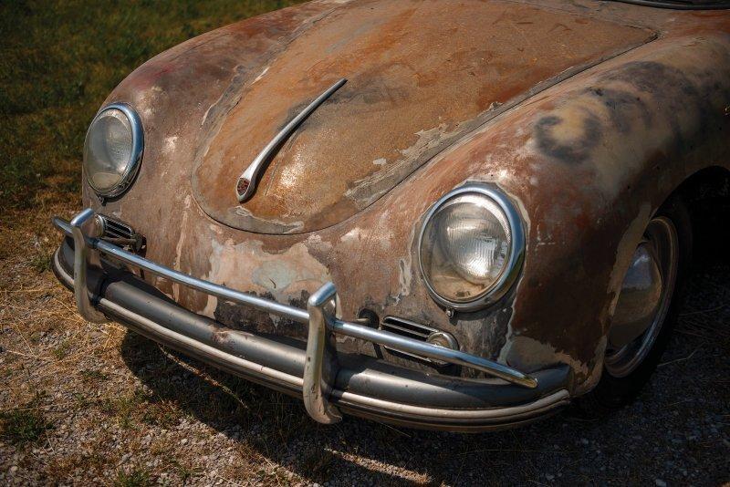 Этот ржавый старичок стоит больше, чем новый Porsche 911