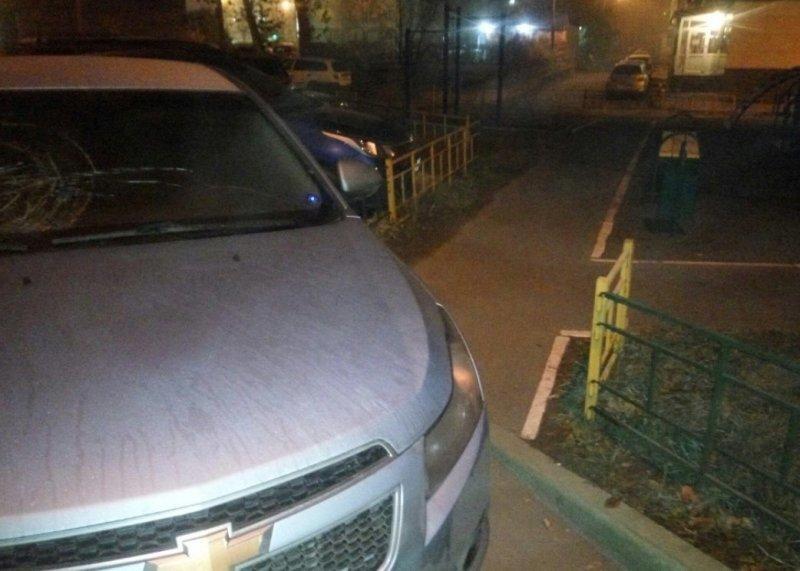 Народные мстители не дремлют: Капитошка прилетел в автомобиль