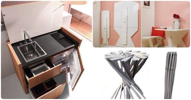 14 компактных вещей для тех, кто экономит место в квартире или чемодане