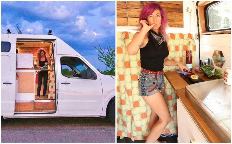 Юристка бросила работу, купила фургон и поехала куда глаза глядят