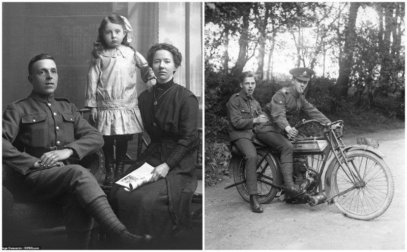 Память о потерянном поколении: впервые обнародованные снимки солдат Первой мировой