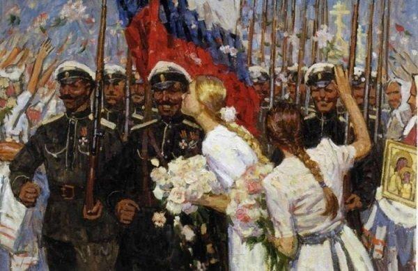 """Их борьба: Россия, которую они потеряли, но не смирились. Или за """"Белое Дело"""", на пальцах"""