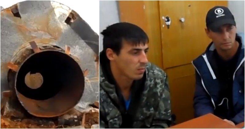 В Красноярском крае двое грибников пытались украсть водонапорную башню: видео
