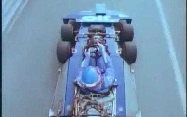 1976 Tyrrell P34    Массивные передние колеса — помеха аэродинамике болидов, ...