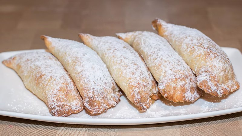 Рецепт пирожков с яблочной начинкой