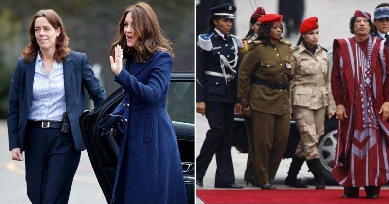 Женщины-телохранители: почему известные политики меняют накачанных секьюрити на хрупких дам?
