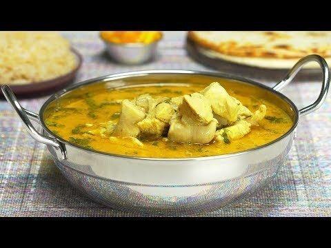 Курица карри с кокосовым молоком. Индийская кухня