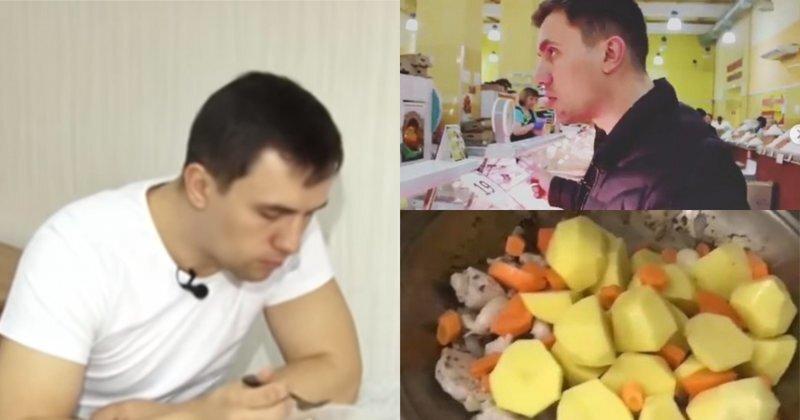 Саратовский депутат, решивший прожить на три с половиной тысячи рублей, похудел на шесть кило
