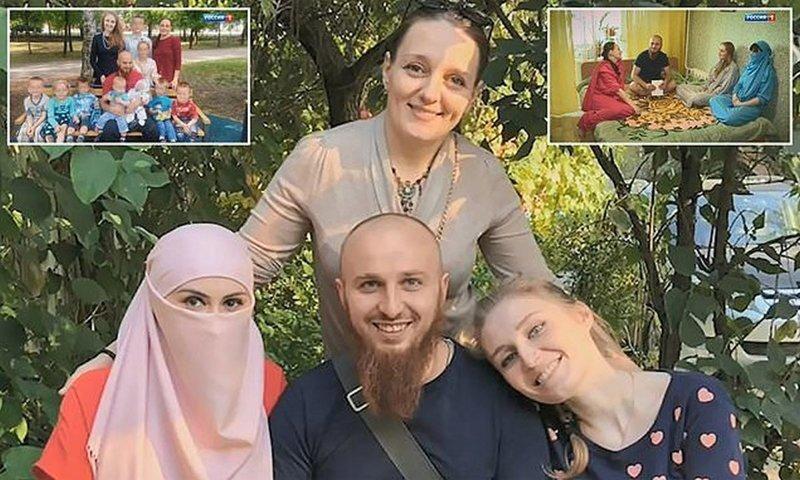 """Российский """"султан"""" и три его жены прославились на всю страну"""