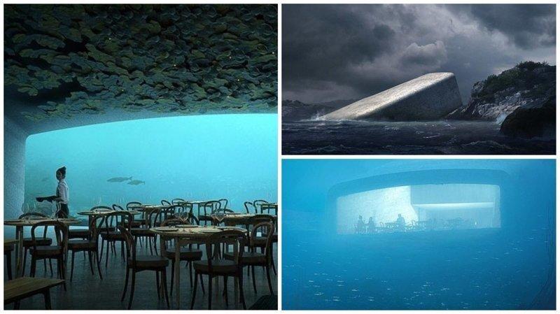 В Норвегии строится самый большой в мире подводный ресторан