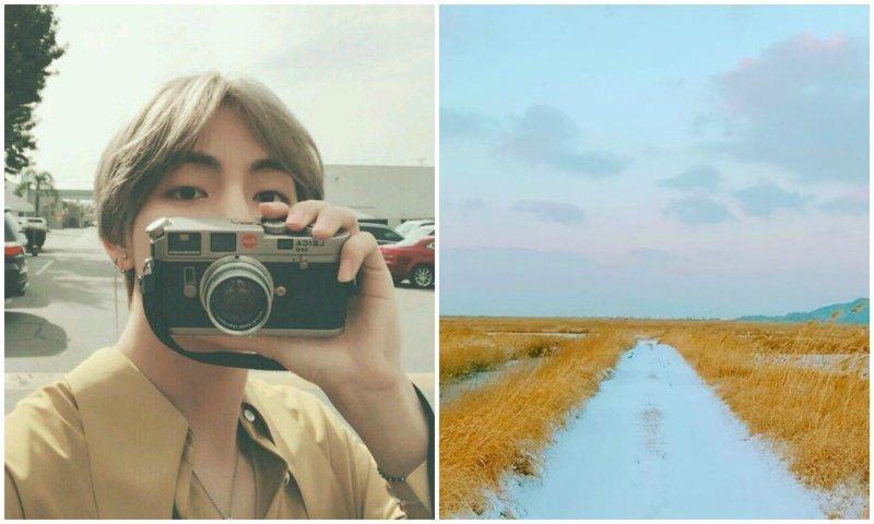 Участник популярной корейской K-pop группы заделался в фотографы