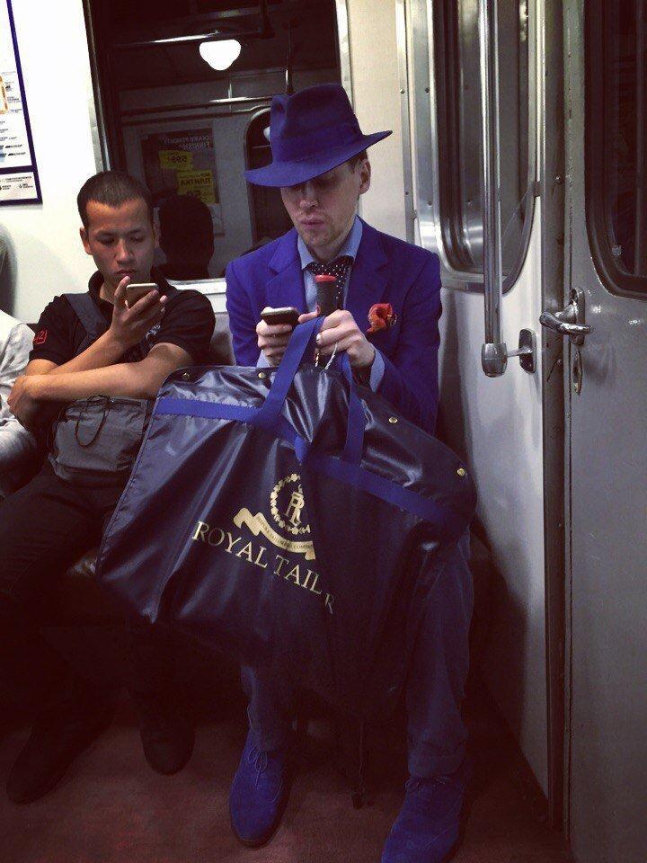 Модники из нашего метрополитена
