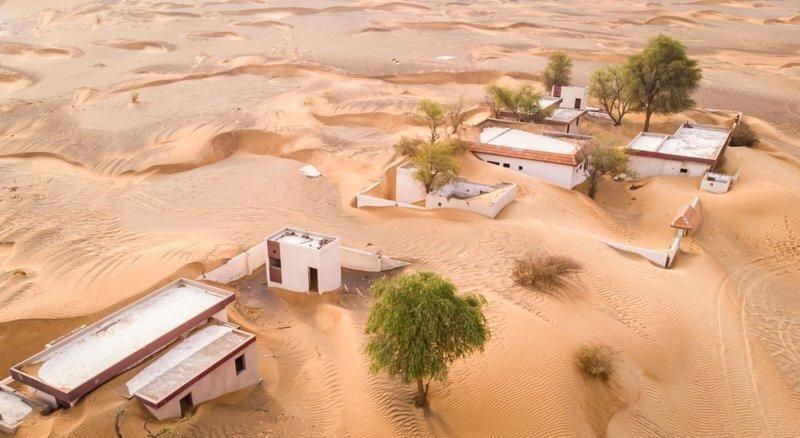 Заброшенная деревня у Аль-Мадам