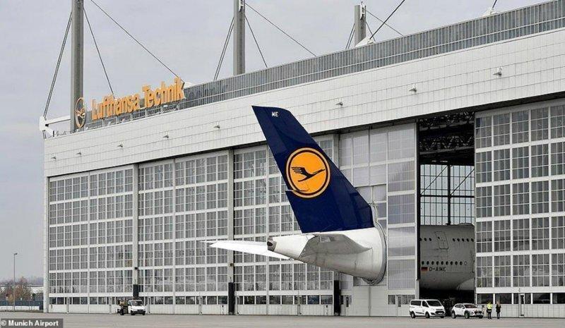 В немецком аэропорту усовершенствовали ворота, чтобы разместить огромный Airbus A380