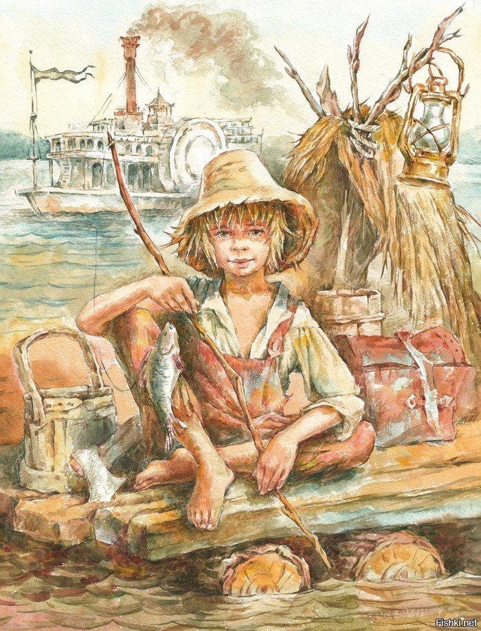 Одна из любимых книжек в детстве