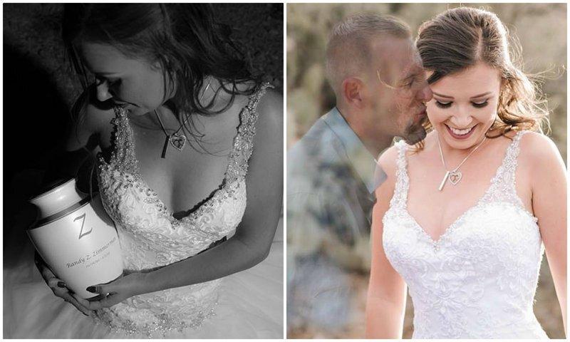 """Жених погиб перед свадьбой, и невеста """"вышла замуж"""" за его призрака"""