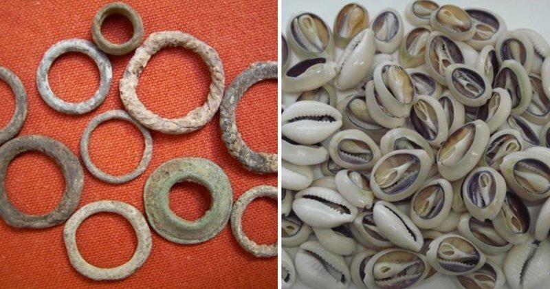 Ракушки, зерновые банки и чай: какими были первые деньги разных народов