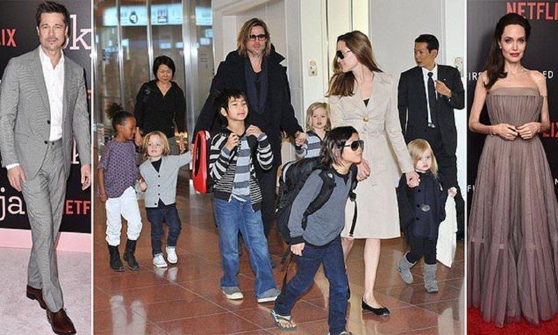 Брэд Питт и Анджелина Джоли решили прекратить войну за детей