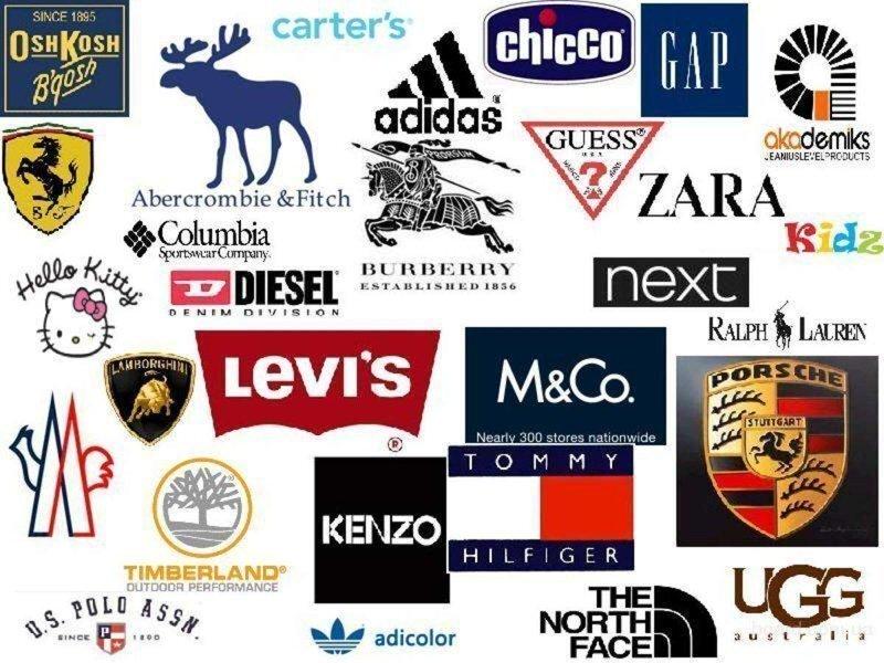 Как и где рождались зарубежные бренды одежды